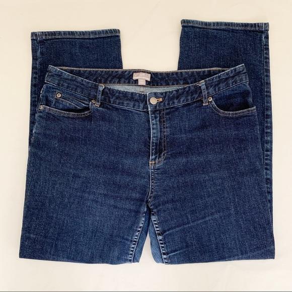 J. Jill Denim - Jjill Straight leg Jeans Size 16p